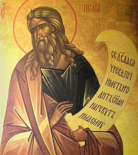 ...Prophet Isaiah Icon